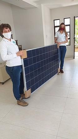 Instalação de Painéis Fotovoltaicos