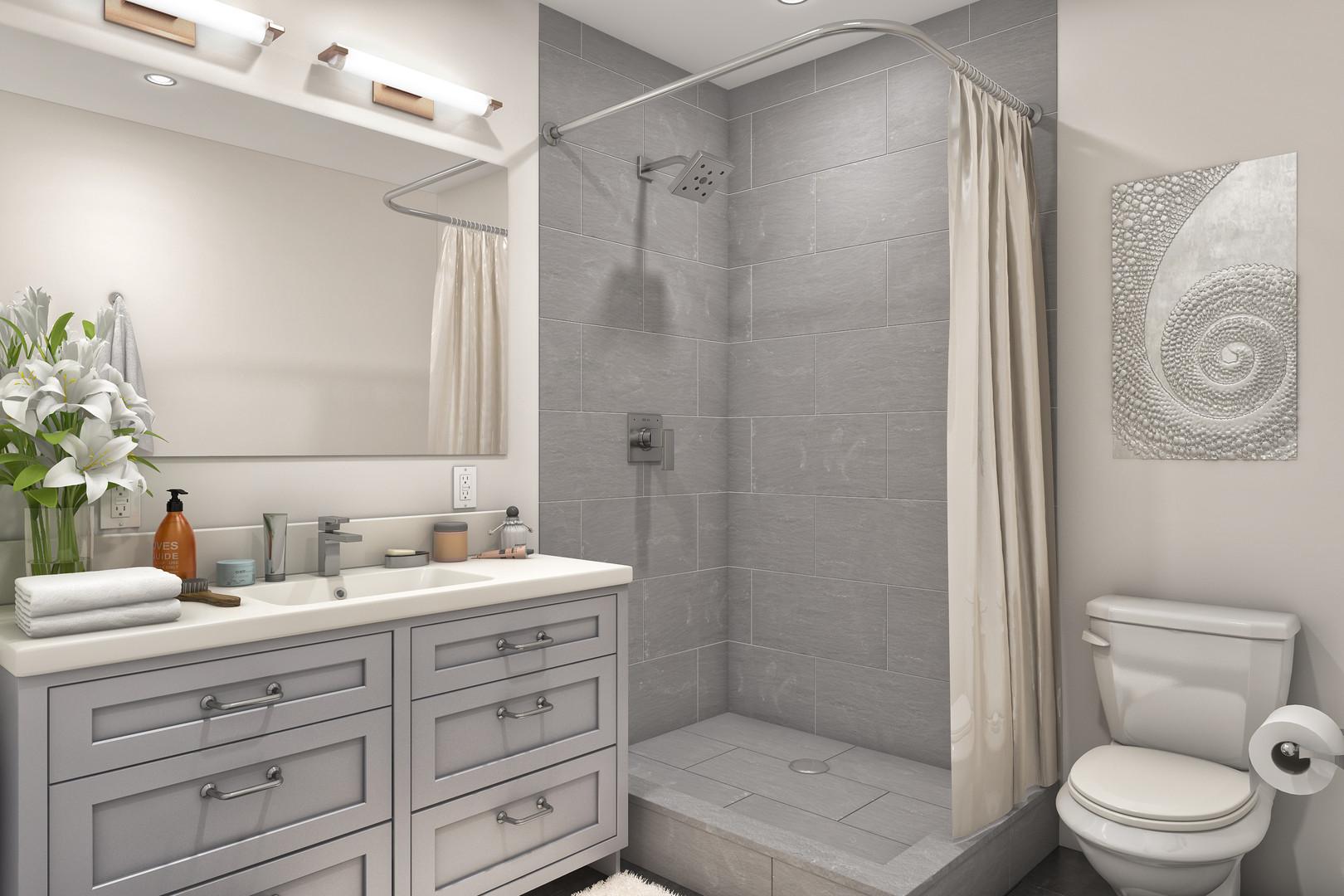 Skyline Model Bathroom*