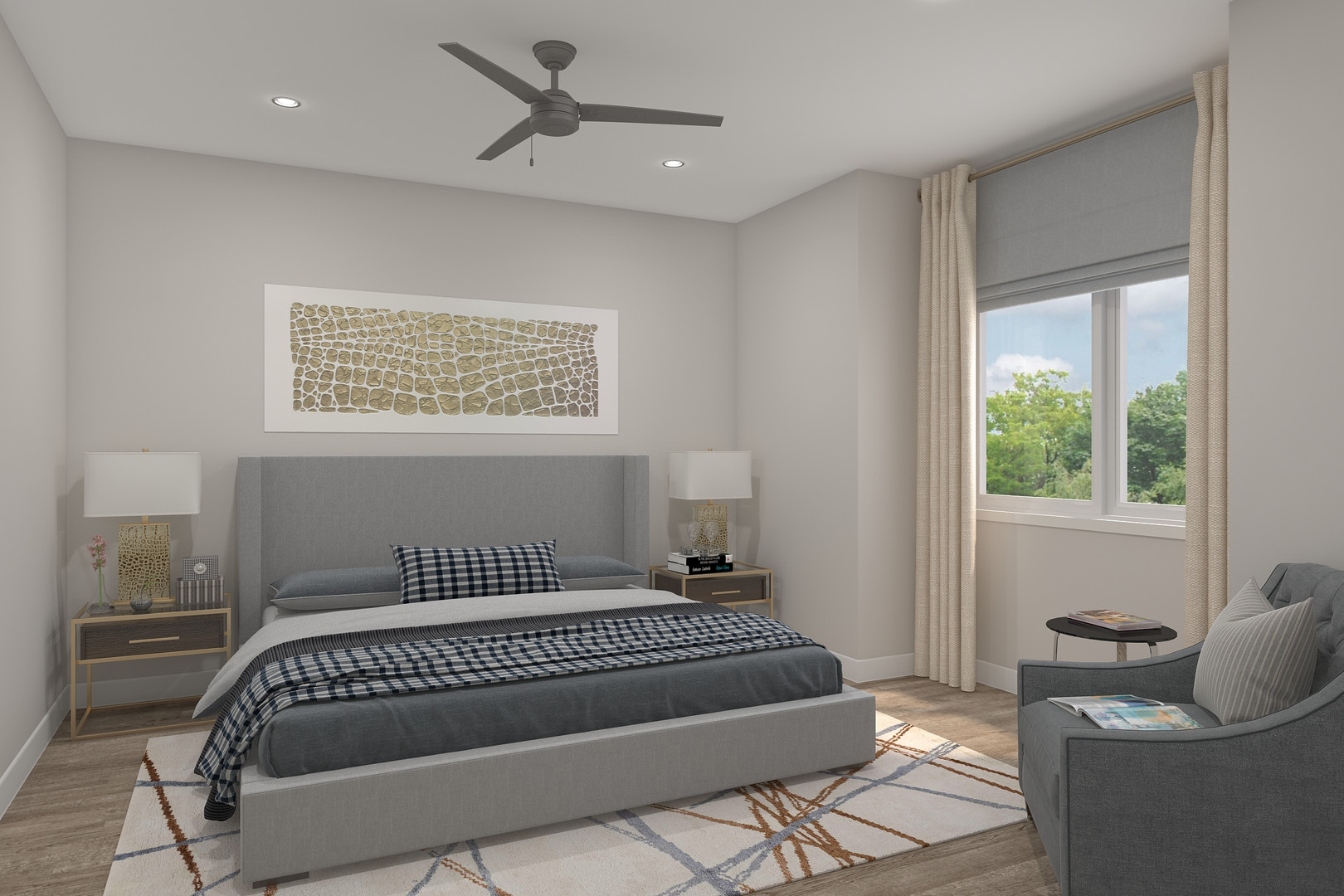 Skyline Model Bedroom*