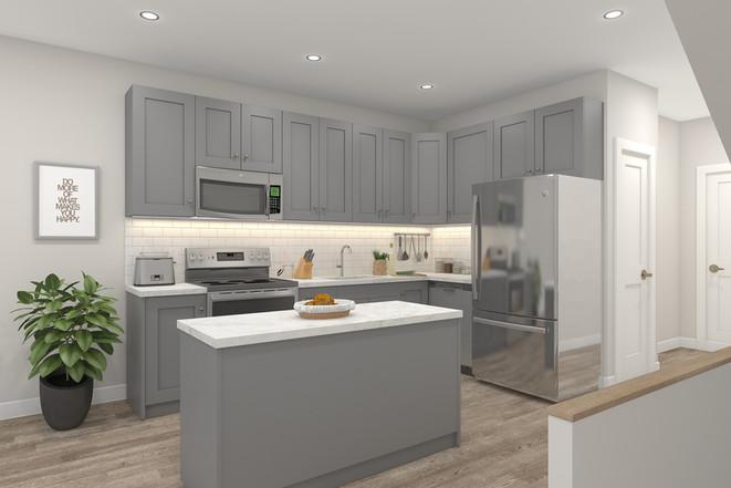 Garden View Model Kitchen*