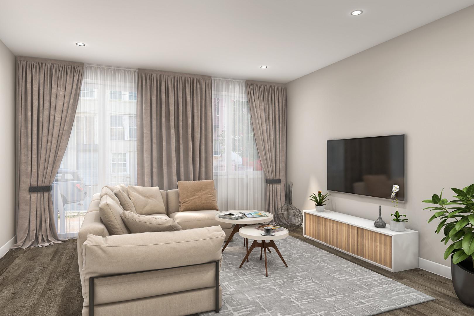 Garden View Model Livingroom*