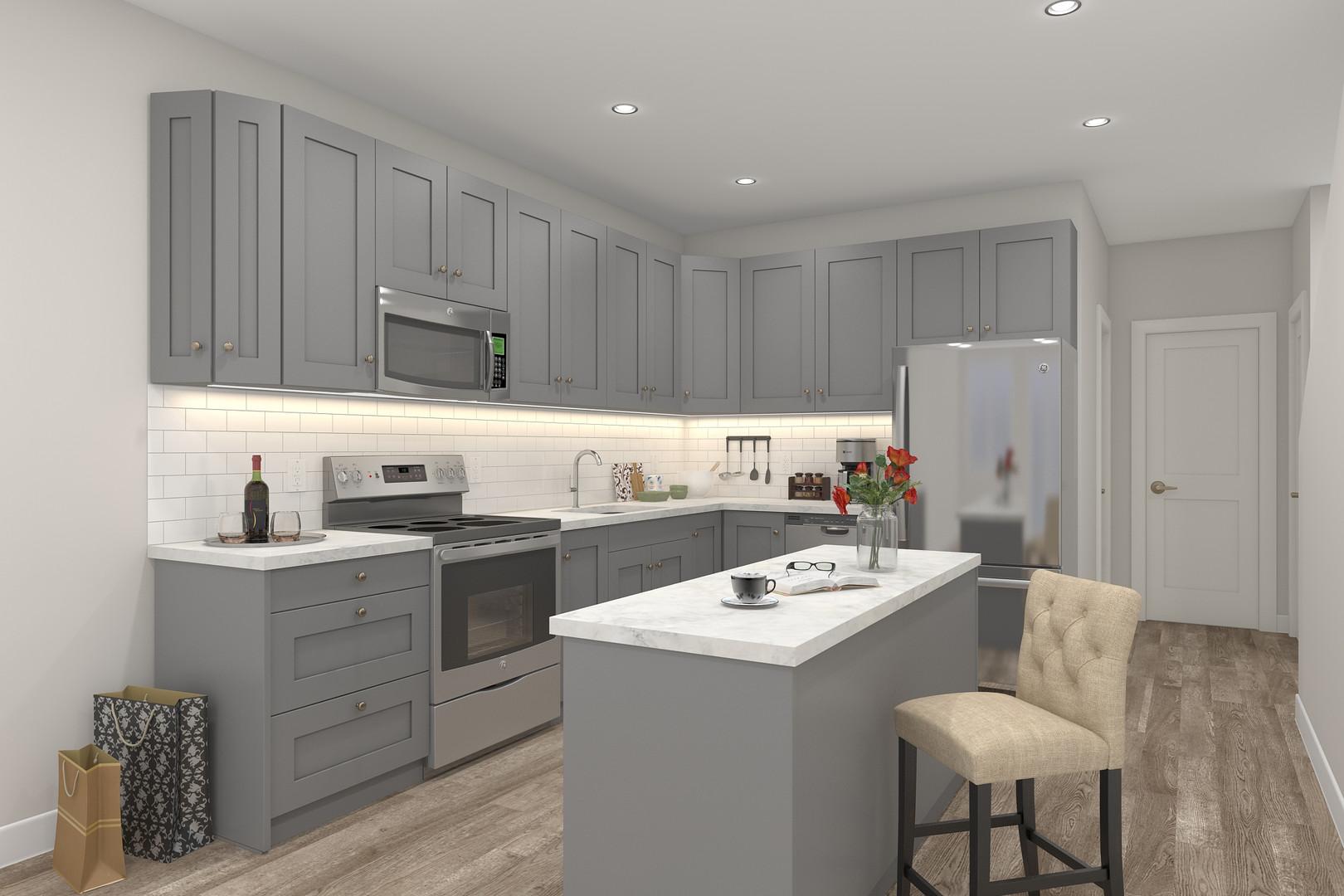 Skyline Model Kitchen*