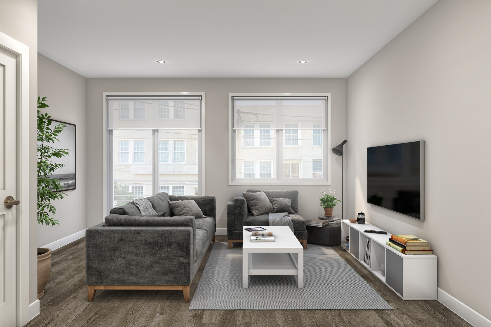 Skyline Model Livingroom*
