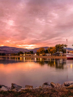 Scenic View of the SS Sicamous on Okanag