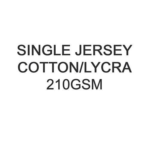 1 - 10 Metres PYO Cotton Lycra Jersey 210gsm -/+5% £18p/m