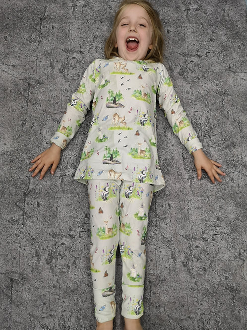 'Let's Grow Together' Pyjamas - lots of fabric choices