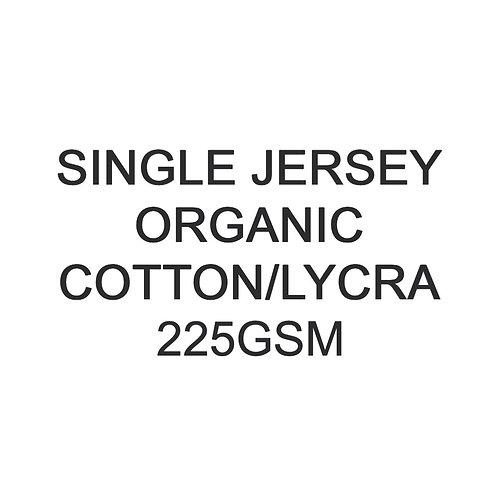 11+  Metres PYO Organic Cotton Lycra Jersey 225gsm -/+5% £18p/m