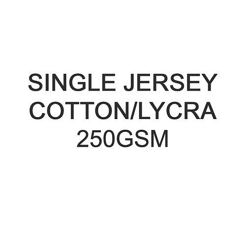 1 1+ Metres PYO Cotton Lycra Jersey 250gsm -/+5% £18p/m