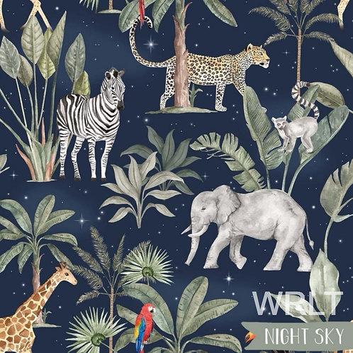 Long Leg Romper - The Night Safari