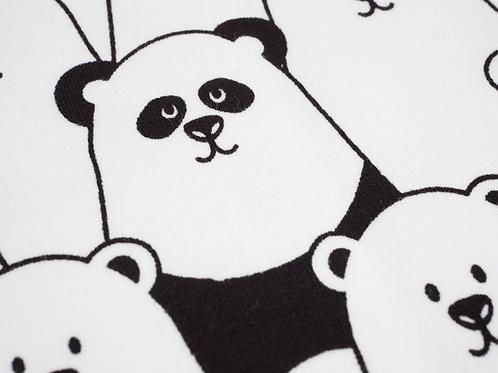 Finding Panda Long Leg Romper