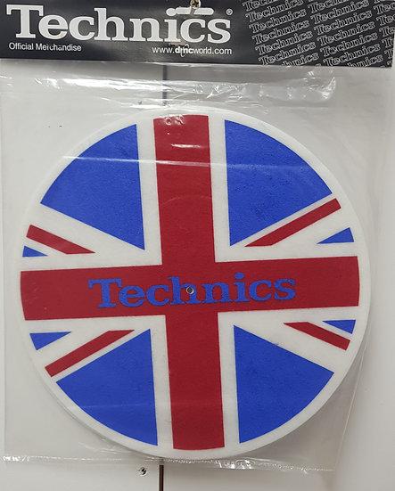 Original DMC Technics Slipmatts - Union Jack