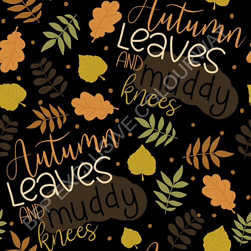 Muddy Knees & Autumn Leaves