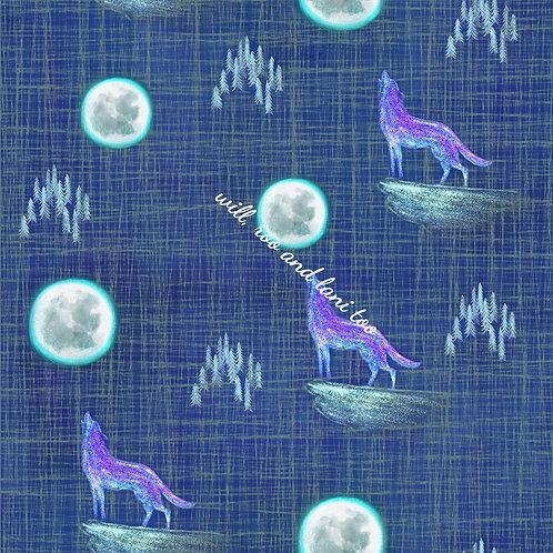 Moon Wolf Short Sleeve Jessica Dress