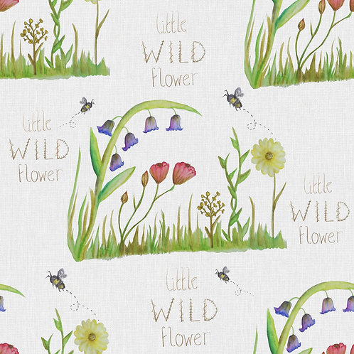 Short Leg Romper - Little Wild Flower