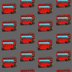 Grey London Buses
