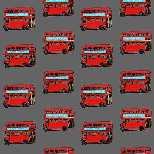 Leggings - Grey London Buses