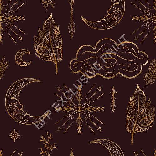 Luna Dreams - Burg/Gold