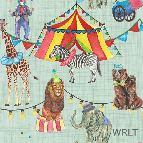 Large Blanket - Cirque De Partay - Circus
