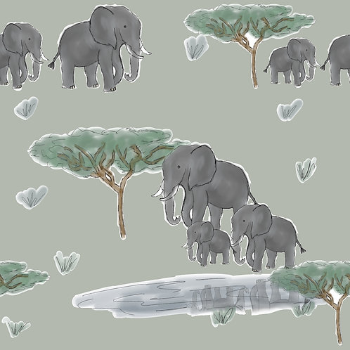 T Shirt - Walk With Elephants