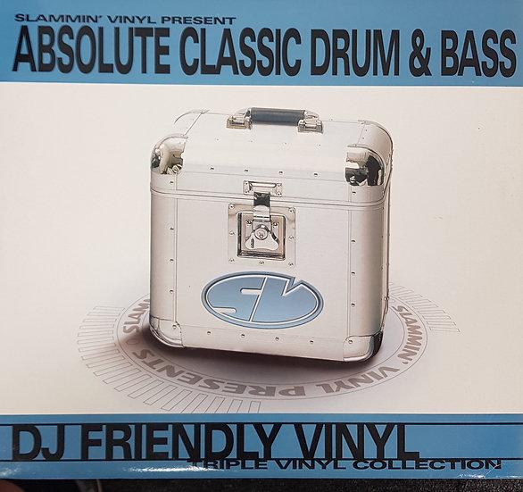 Slammin' Vinyl Presents Absolute Classic Drum & Bass 3 x LP