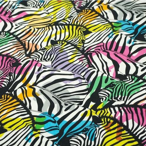 Animals On Zebras Handmade Romper