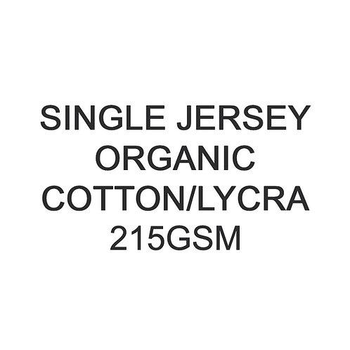 1 - 10 Metres PYO Organic Cotton Lycra Jersey 215gsm £19.00p/m