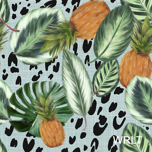 Jasmine Jumpsuit - Tropical Pineapple
