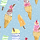 Thumbnail: Full Skirt Dress With Sleeve Variations - Ice Cream