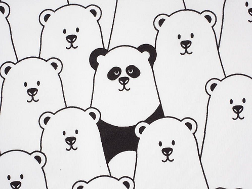 Finding Panda Dress With Sleeve Options