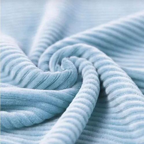 Adult Sweatshirts - Jumbo Cord Baby Blue