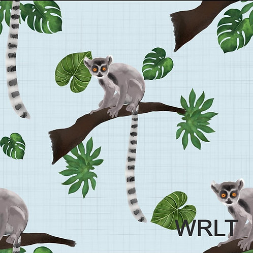 Bubble Romper - Leaping Lemurs