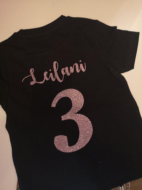 Personalised Birthday T shirt
