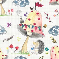 Hedgehog Tea Party