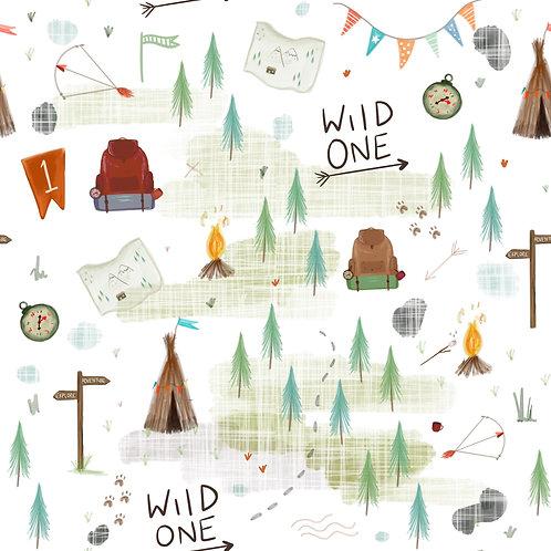 Adult Snoogle - Wild One Birthday Print