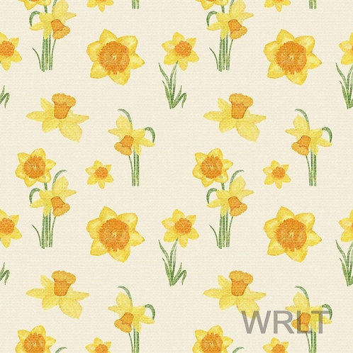 Short Sleeve Jessica Dress - Daffodils