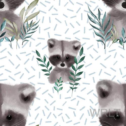 Adult Snoogle - Ronnie Raccoon - Sprinkles