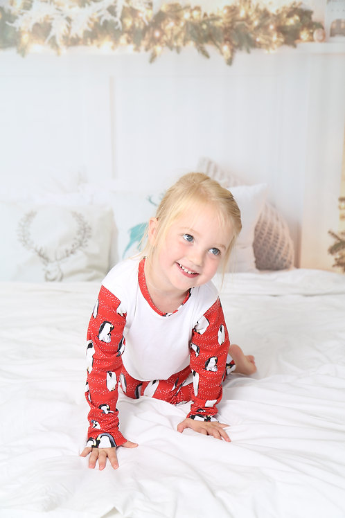 Handmade Exclusive Penguin Perfection Pyjamas