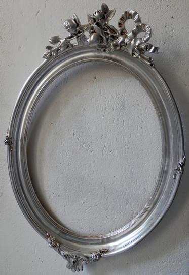 Restauration miroir feuilles d'aluminium