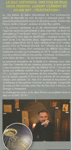 Journale de Pernes 2018