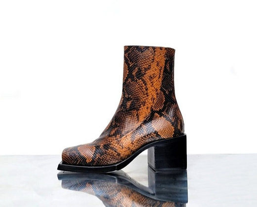 """Reese square toe boot 3"""""""
