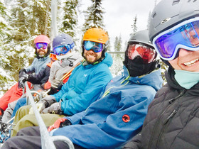 Friends Snowboarding at Big White_edited