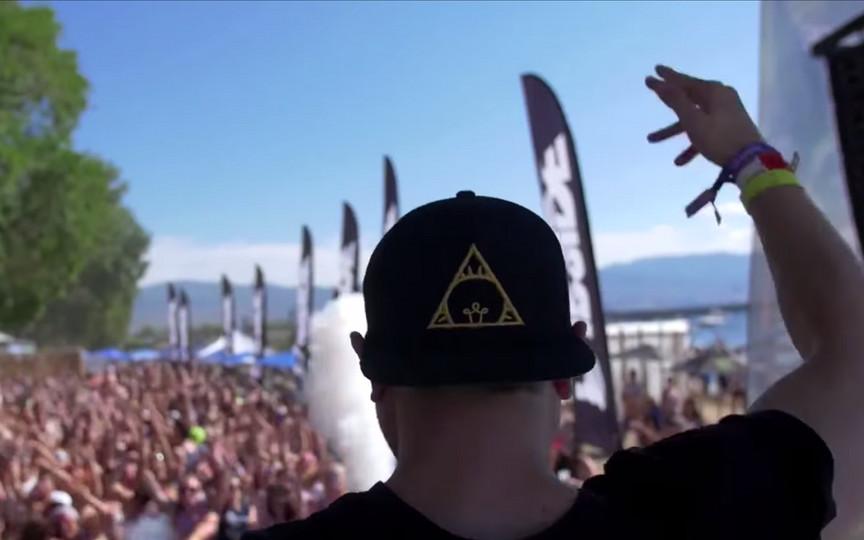 DJ at Kelowna Music Fest