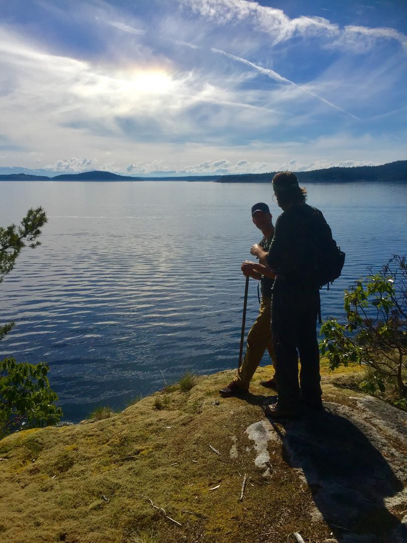 Dads Hiking Around Vancouver