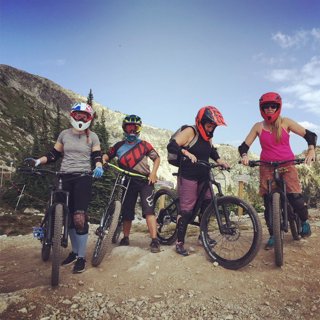 Ladies Mountain Bike Lessons