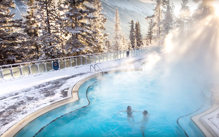 Banff Springs Hotel Hot Springs Pool_edi