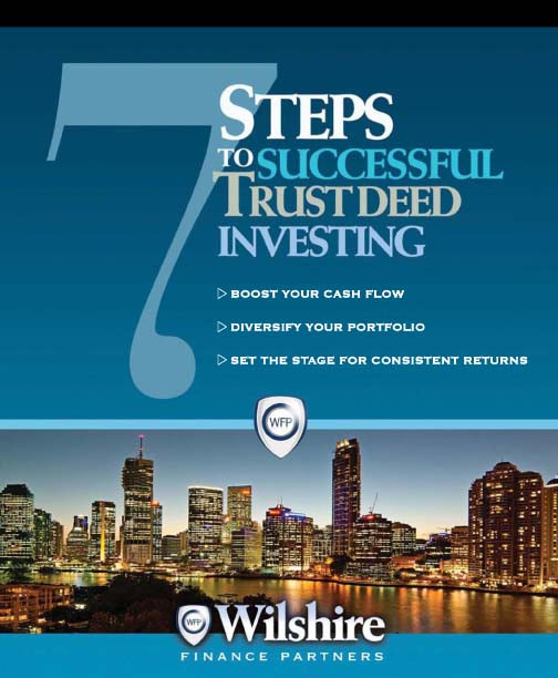Seven Steps to Successful Trust Deed Investing