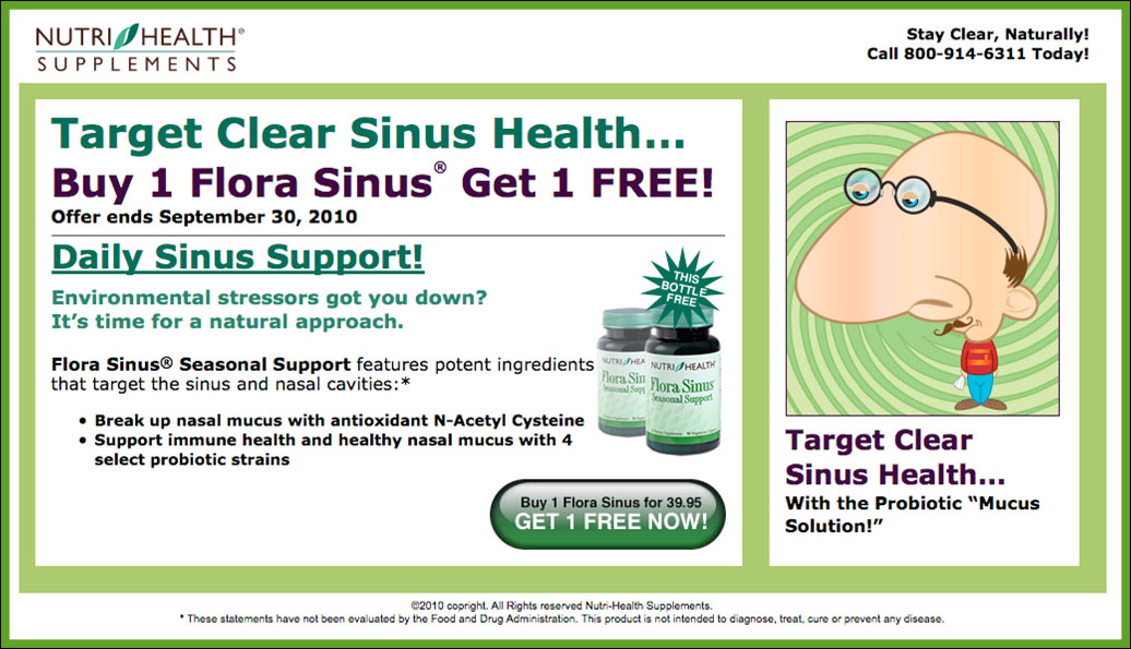 Sinus Health Post-Card