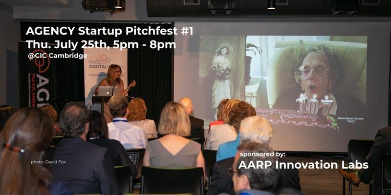 AGENCY Startup Pitchfest - July 25