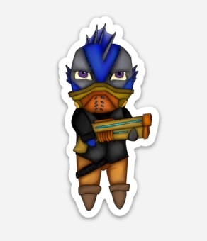 Draven Sticker