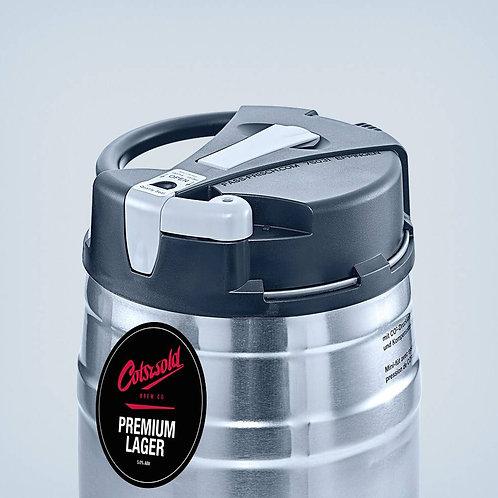 Premium Lager 5L 'PUB POUR' Minikeg (5%)